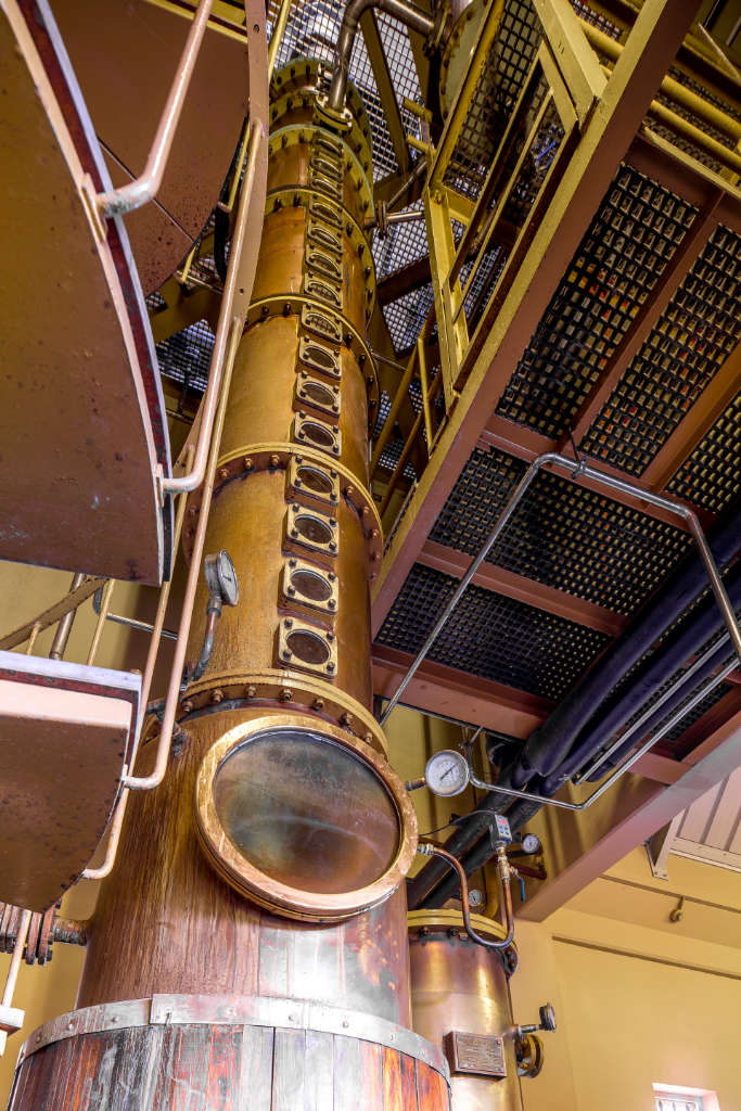 Distillation Column at Rhumerie De Chamarel, Mauritius