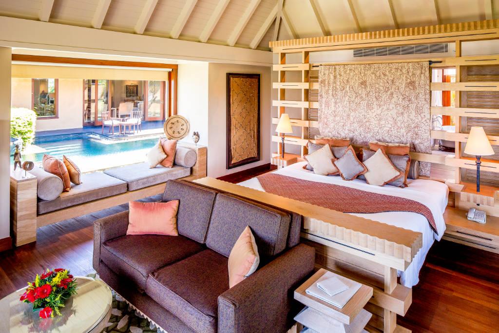 The Oberoi Mauritius bedroom